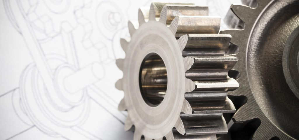 Gears and mechanical diagram for patent application or engineering.  Concept for patent attorney.